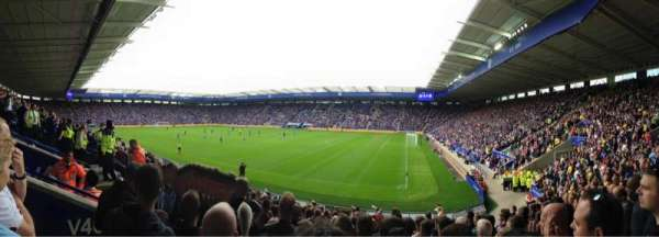 King Power Stadium, secção: M3a, fila: Q, lugar: 333