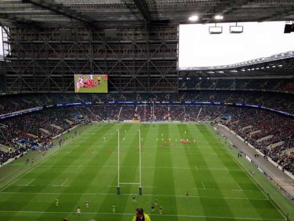 Twickenham Stadium, secção: U46