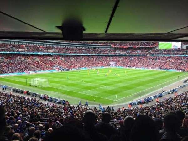 Wembley Stadium, secção: 129, fila: 44, lugar: 199
