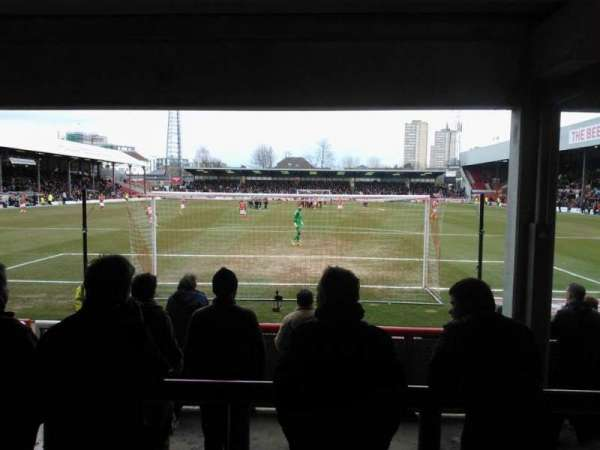 Griffin Park, secção: Brook Road Terrace