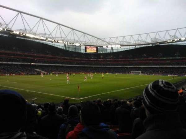 Emirates Stadium, secção: 21, fila: 14, lugar: 654