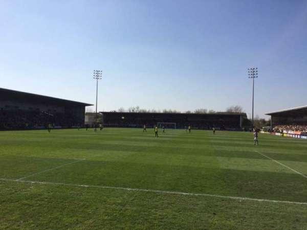 Pirelli Stadium, secção: East Stand, fila: Front