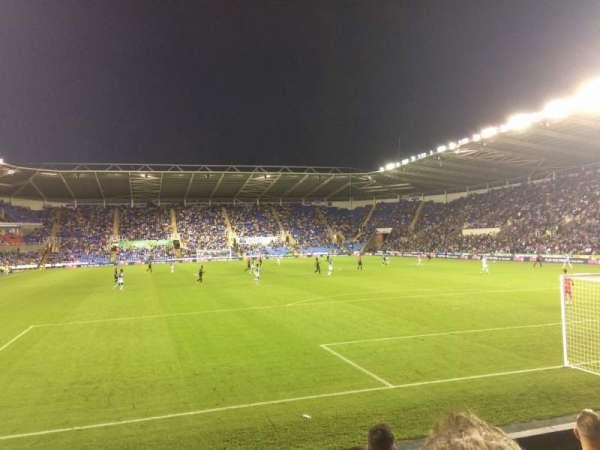 Madejski Stadium, secção: R31, fila: K, lugar: 154