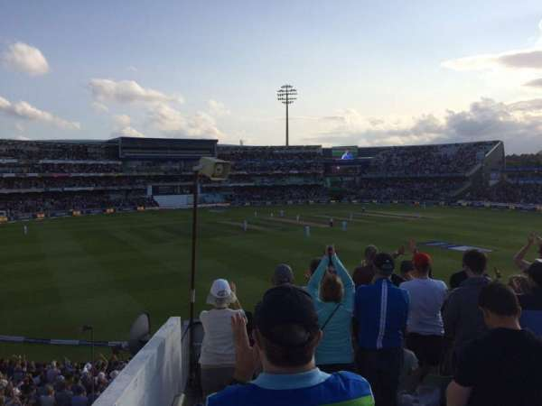Edgbaston Cricket Ground, secção: 16B, fila: U, lugar: 52