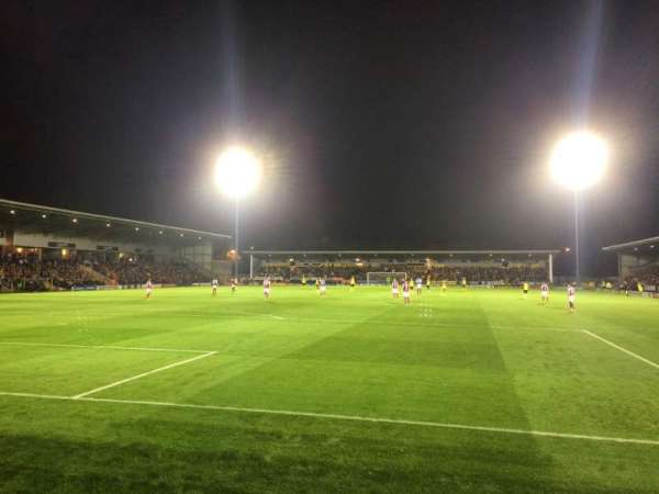 Pirelli Stadium, secção: East Terrace