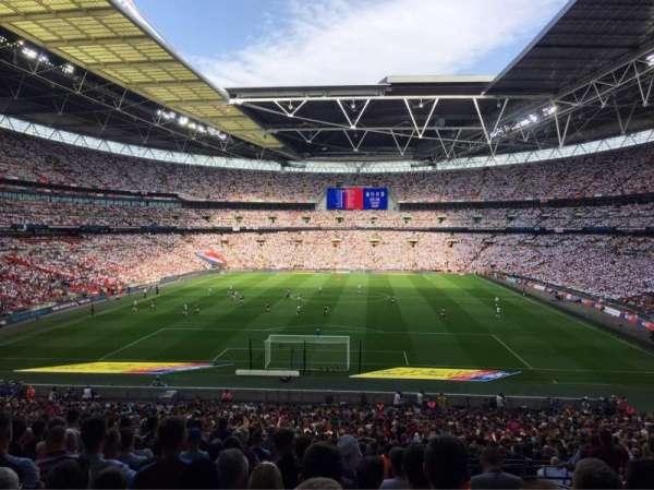 Wembley Stadium, secção: 133, fila: 44, lugar: 309