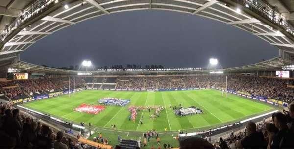 Craven Park, Hull, secção: West Stand Upper, fila: Unreserved
