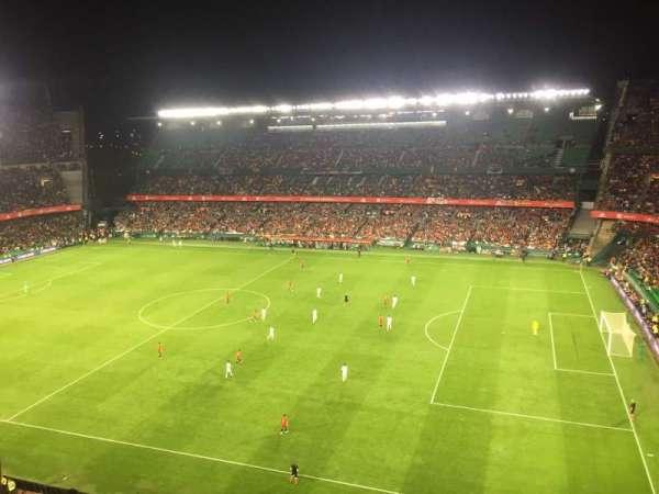 Estadio Benito Villamarin, secção: 19, fila: 8, lugar: 170