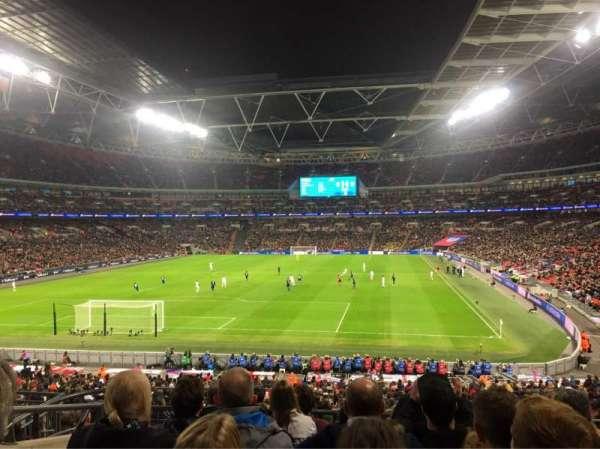 Wembley Stadium, secção: 110, fila: 37, lugar: 219