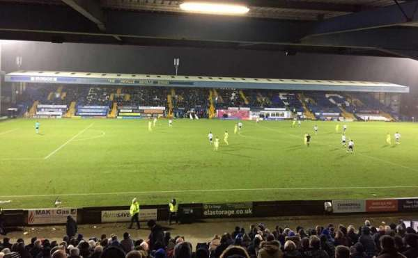 Gigg Lane, secção: East Stand, fila: Back