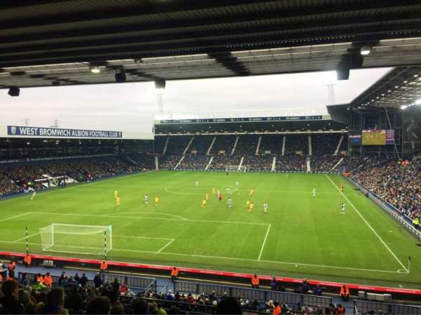 The Hawthorns, secção: A2, fila: SS, lugar: 20