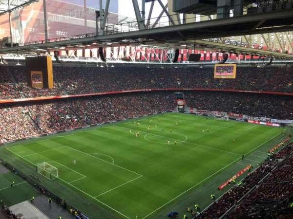 Amsterdam Arena, secção: 409, fila: 24, lugar: 80