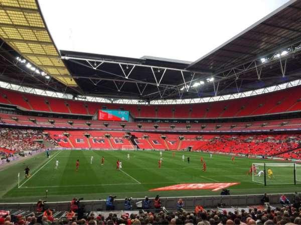 Wembley Stadium, secção: 136, fila: 21, lugar: 63
