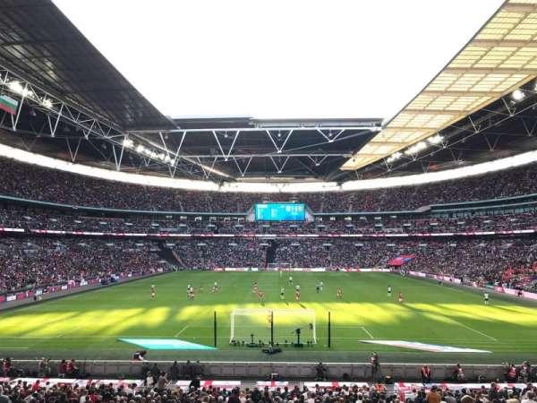 Wembley Stadium, secção: 111, fila: 31, lugar: 269