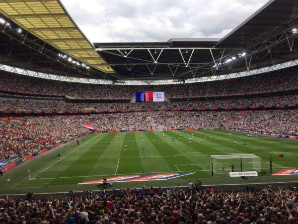 Wembley Stadium, secção: 135, fila: 34, lugar: 36