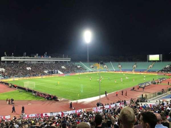 Vasil Levski Stadium, secção: 44, fila: 35, lugar: 23