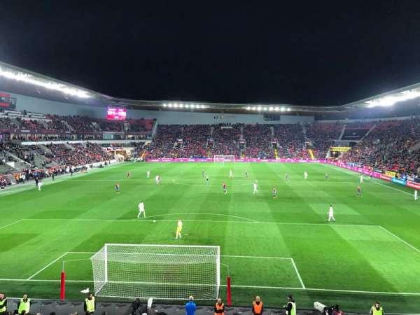 Sinobo Stadium, secção: 124, fila: 17, lugar: 4