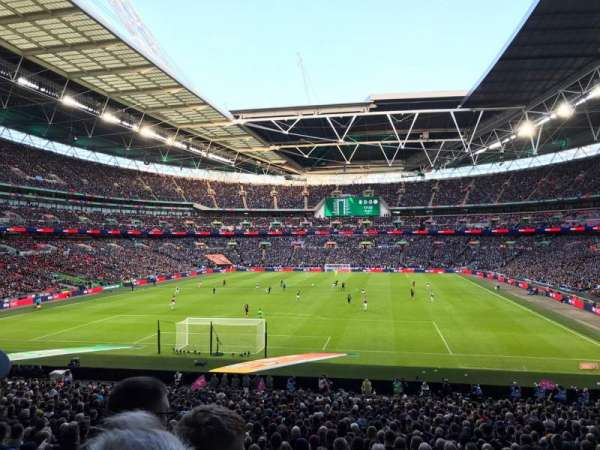 Wembley Stadium, secção: 132, fila: 34, lugar: 289