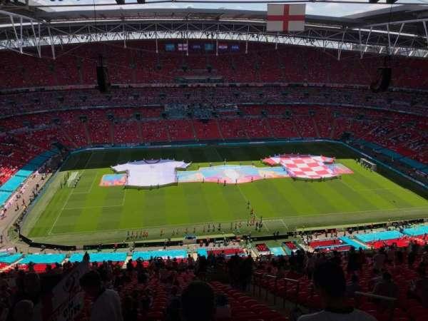 Wembley Stadium, secção: 502, fila: 33, lugar: 49