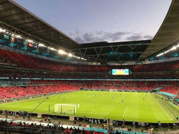 Wembley Stadium, secção: 110, fila: 41, lugar: 219