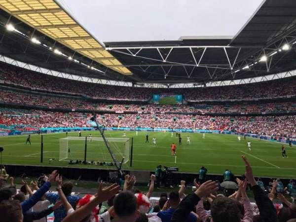 Wembley Stadium, secção: 133, fila: 14, lugar: 299
