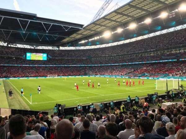 Wembley Stadium, secção: 115, fila: 16, lugar: 93