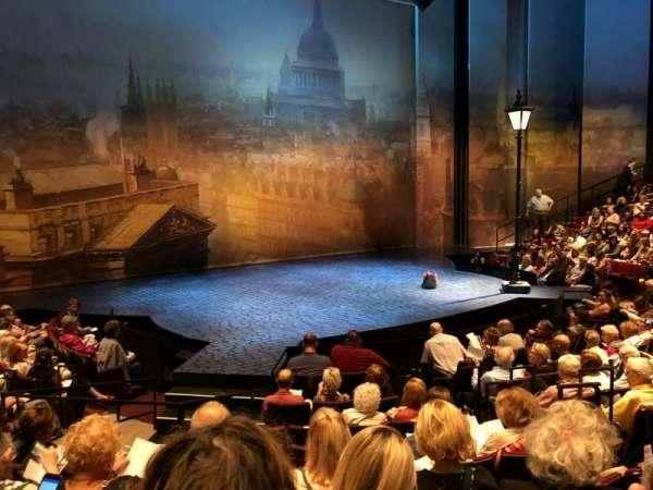 Vivian Beaumont Theater, secção: Orchestra LC, fila: K, lugar: 205