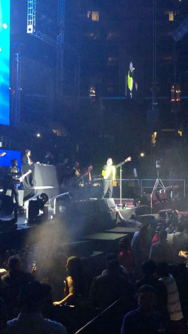 Staples Center, secção: 112, fila: 6, lugar: 21