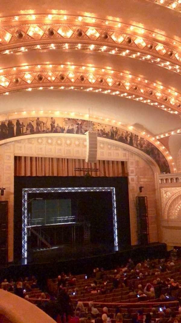 Auditorium Theatre, secção: UBXL9, fila: 1, lugar: 1