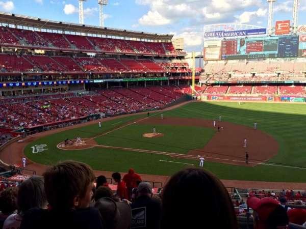 Great American Ball Park, secção: 303, fila: I, lugar: 2