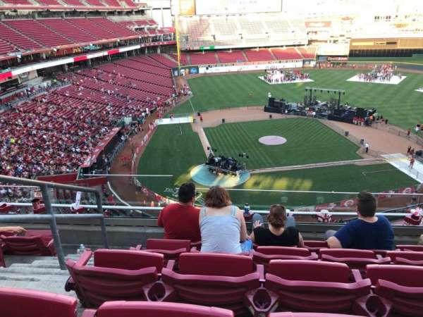 Great American Ball Park, secção: 427, fila: E, lugar: 16