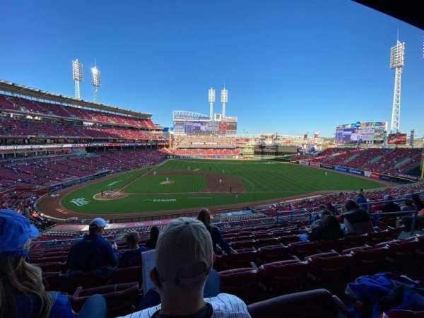Great American Ball Park, secção: 302, fila: I, lugar: 9