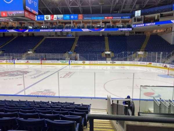 Webster Bank Arena, secção: 106, fila: G, lugar: 7
