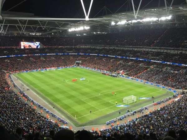Wembley Stadium, secção: 518, fila: 18, lugar: 145