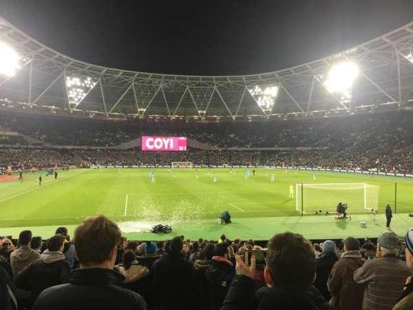 London Stadium, secção: 119, fila: 19, lugar: 81