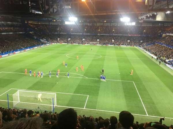 Stamford Bridge, secção: Shed Upper, fila: 17, lugar: 118