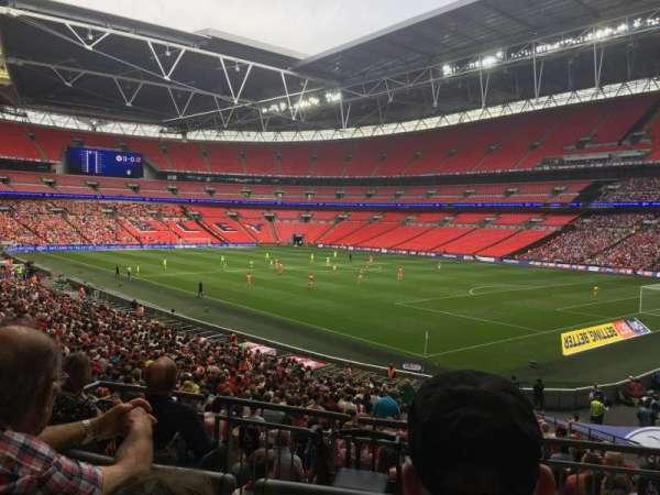 Wembley Stadium, secção: 139, fila: 32, lugar: 148