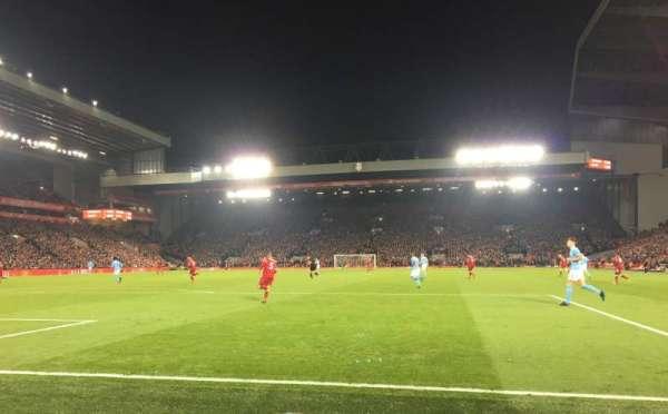 Anfield, secção: 124, fila: 2, lugar: 72