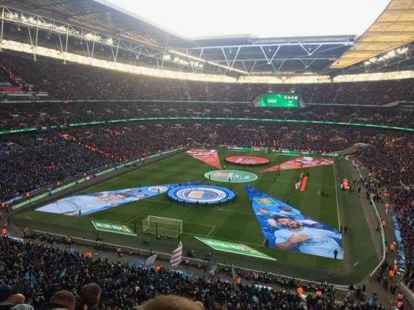 Wembley Stadium, secção: 511, fila: 7, lugar: 327