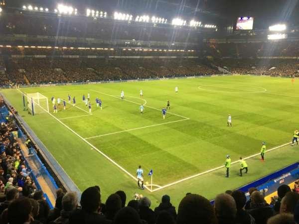 Stamford Bridge, secção: Shed Upper, fila: 7, lugar: 35