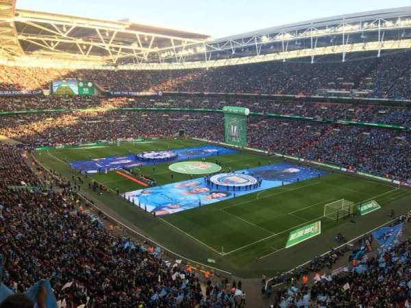 Wembley Stadium, secção: 545, fila: 3, lugar: 173
