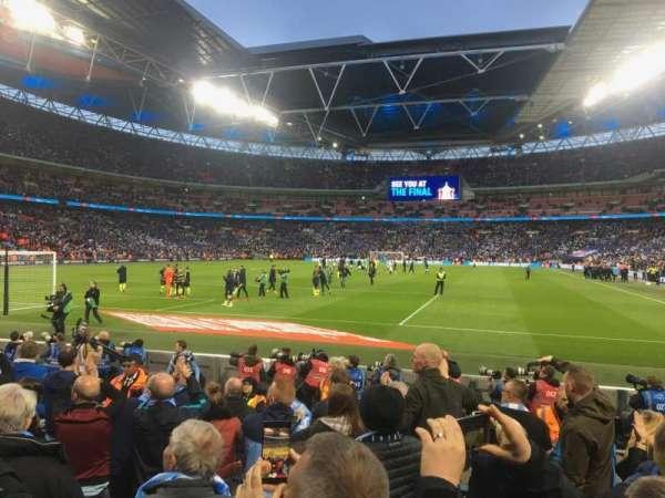 Wembley Stadium, secção: 110, fila: 8, lugar: 217