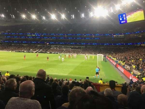 Tottenham Hotspur Stadium, secção: 117, fila: 17, lugar: 532