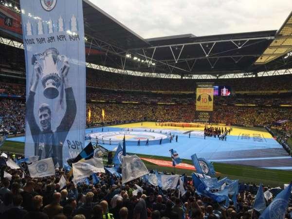 Wembley Stadium, secção: 110, fila: 33, lugar: 217