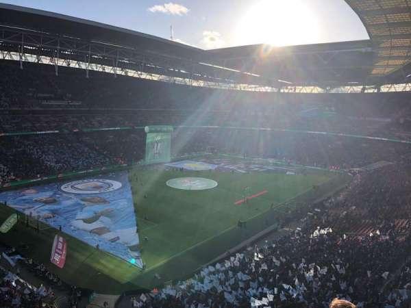 Wembley Stadium, secção: 507, fila: 4, lugar: 210