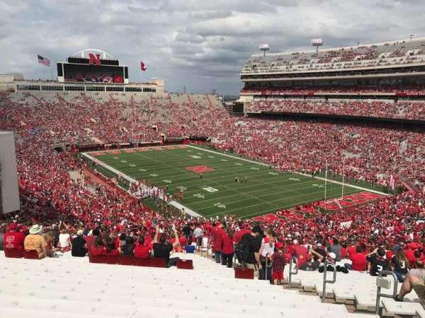 Memorial Stadium (Lincoln), secção: 20, fila: 96, lugar: 7