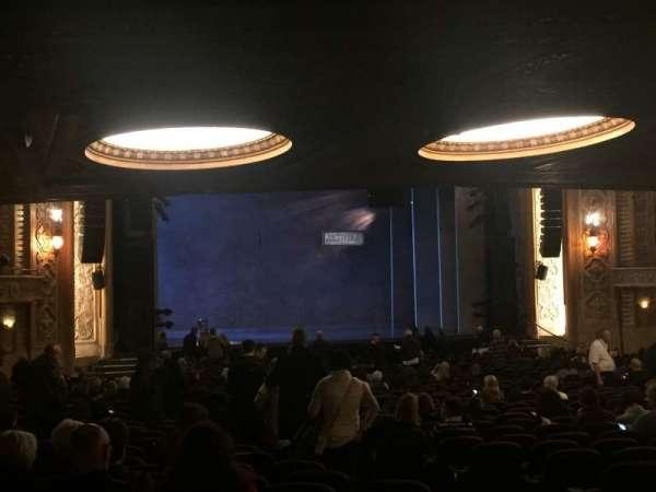 Paramount Theatre (Seattle), secção: MFR, fila: KK, lugar: 5