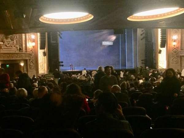 Paramount Theatre (Seattle), secção: Main Floor 3, fila: KK, lugar: 5