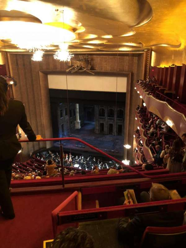 Metropolitan Opera House - Lincoln Center, secção: Family Circle, fila: C, lugar: 2