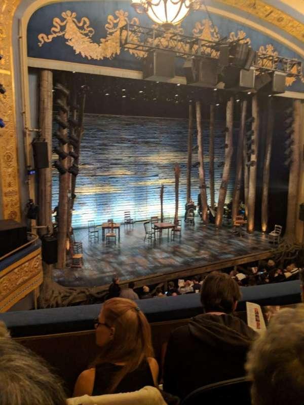 Gerald Schoenfeld Theatre, secção: Mezzanine L, fila: C, lugar: 13